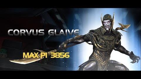 Corvus Glaive Special Moves Marvel Contest of Champions