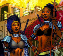 Dora Milaje (Earth-616) from Black Panther Vol 4 14 0001