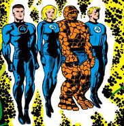 Fantastic Four being examined by the Supreme Intelligence from Fantastic Four Vol 1 65