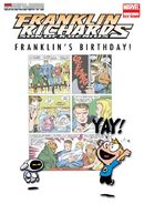 Franklin Richards Franklin's Birthday! Vol 1 1