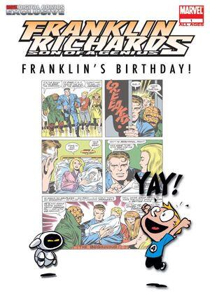 Franklin Richards Franklin's Birthday! Vol 1 1
