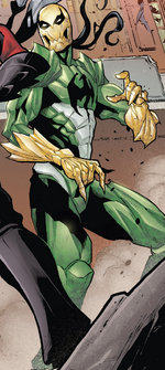 Hive (Poisons) (Earth-17952) Members-Poison Iron Fist from Venomverse Vol 1 2 001