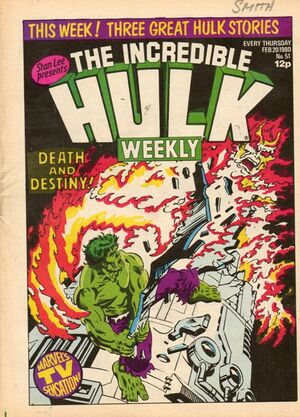 Hulk Comic (UK) Vol 1 51