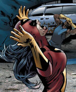 Jessica Drew (Earth-2149) from Ultimate Fantastic Four Vol 1 23 0001