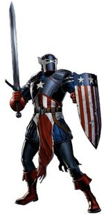 Knight America (Earth-12131) from Marvel Avengers Alliance 0001