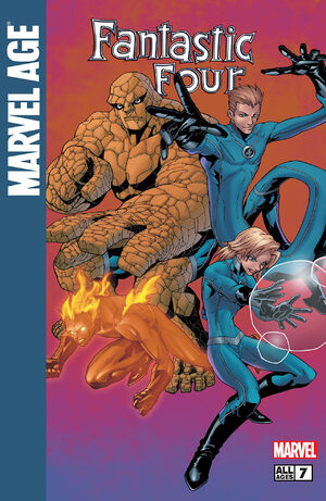Marvel Age Fantastic Four Vol 1 7
