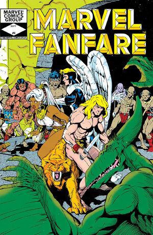 Marvel Fanfare Vol 1 4