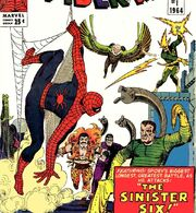 Peter Parker (Earth-616) versus the Sinister Six from Amazing Spider-Man Annual Vol 1 1