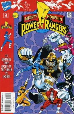 Sabans Mighty Morphin Power Rangers Vol 1 3