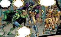Savage Land Mutates (Earth-7642) from Badrock Wolverine Vol 1 1 001