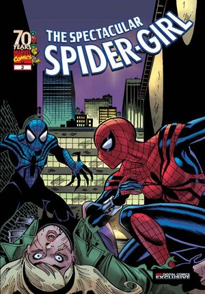 Spectacular Spider-Girl Vol 1 2 cover