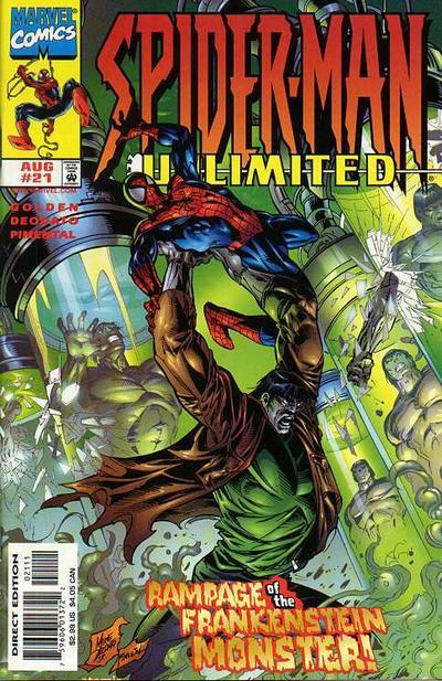 Spider-Man Unlimited Vol 1 21