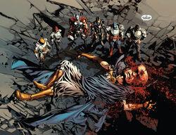 Avengers (Earth-616), Nicholas Fury (Earth-616) and Uatu (Earth-616) from Original Sin Vol 1 1 001