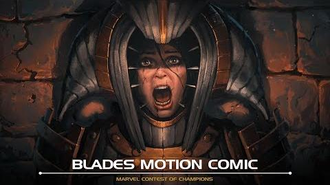 Blades Motion Comic Marvel Contest of Champions