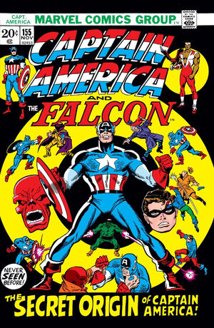 Captain America Vol 1 155