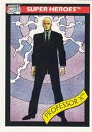 Charles Xavier (Earth-616) from Marvel Universe Cards Series I 0001