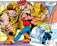 Clobber Patrol (Earth-616) from Fantastic Four Vol 1 294