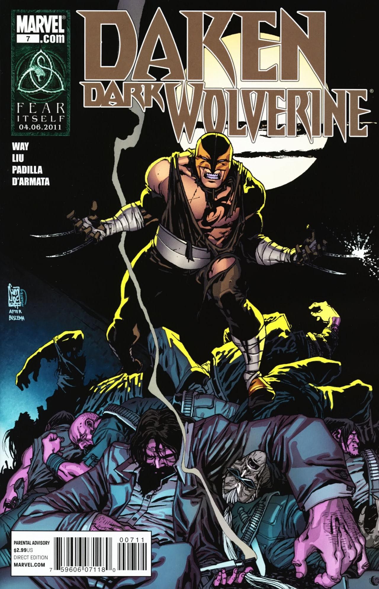 Daken Dark Wolverine Vol 1 7