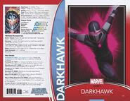 Darkhawk Vol 1 51 Trading Card Wraparound Variant