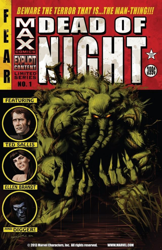 Dead of Night Featuring Man-Thing Vol 1 1