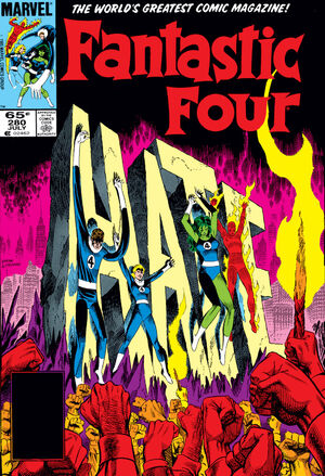 Fantastic Four Vol 1 280