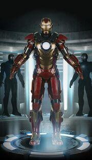 Iron Man Armor MK XVII (Earth-199999) 001