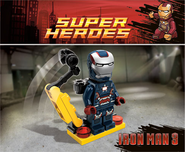 James Rhodes (Earth-13122) and Anthony Stark (Earth-13122) from LEGO Marvel Super Heroes 001