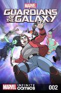 Marvel Universe Guardians of the Galaxy Infinite Comic Vol 1 2