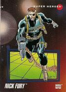 Nicholas Fury (Earth-616) from Marvel Universe Cards Series III 0001