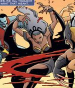 Ororo Munroe (Earth-11080) from Marvel Universe Vs. The Avengers Vol 1 1 001