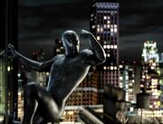 Peter Parker (Earth-96283) and Venom (Symbiote) (Earth-96283) from Spider-Man 3 (film) 001