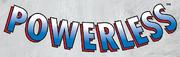 Powerless Vol 1 1 Logo