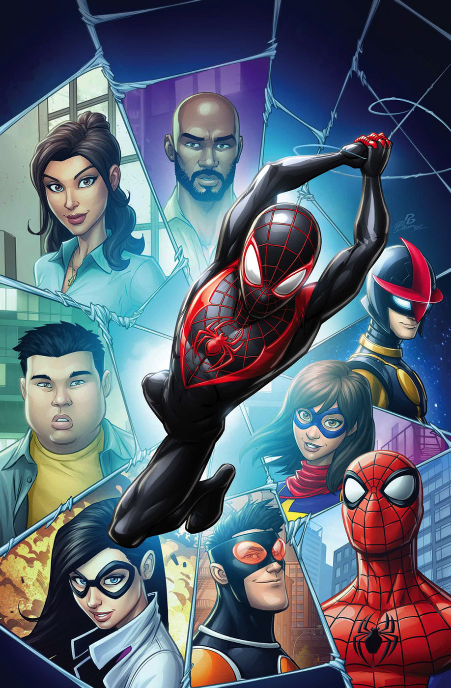 Miles Morales Earth 1610 Marvel Database Fandom Powered By Wikia Iron Man Circuit Superhros Comics Logostore Spider Gallery
