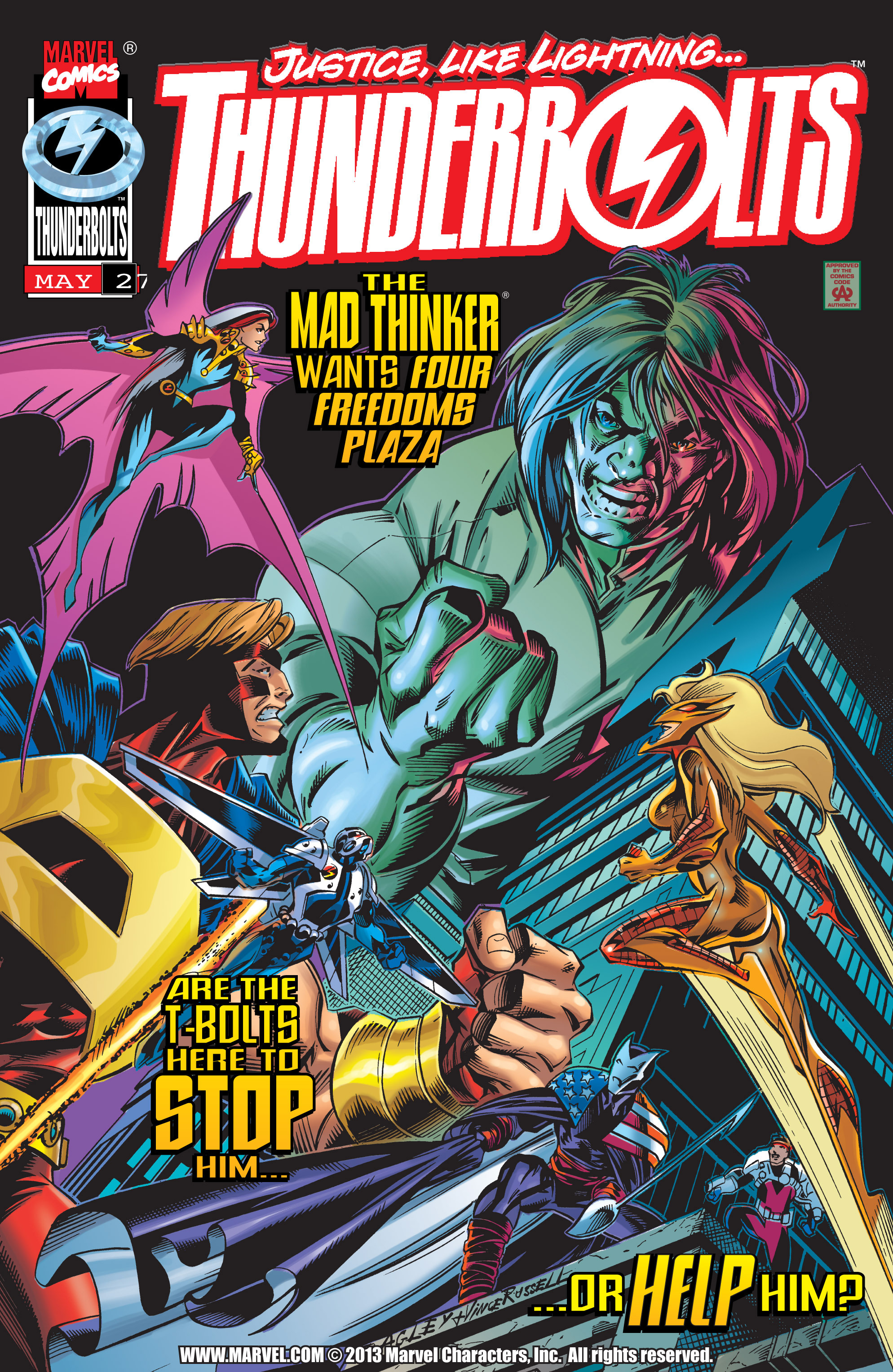 Thunderbolts Vol 1 2