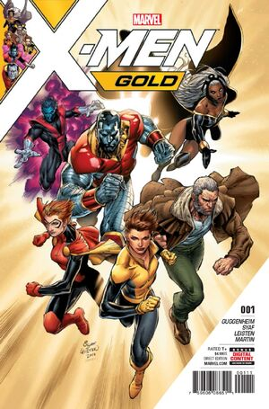 X-Men Gold Vol 2 1