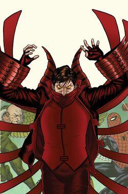 Amazing Spider-Man Vol 1 623 Villain Variant Textless