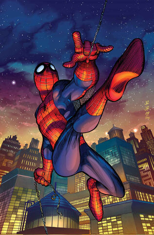 File:Amazing Spider-Man Vol 3 2 Romita Jr. Variant Textless.jpg