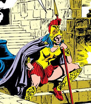 Athena Panhellenios (Earth-616) from Avengers Vol 1 283 0001