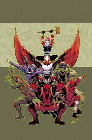 Deadpool & the Mercs for Money Vol 2 1 Textless
