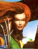Jean Grey (Earth-TRN169) from X-Men Mutant Academy Video Game Cover