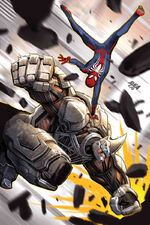Marvel's Spider-Man City at War Vol 1 4 Sinister Six Variant Textless