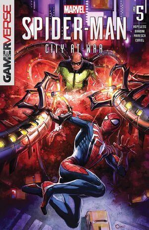 Marvel's Spider-Man City at War Vol 1 5