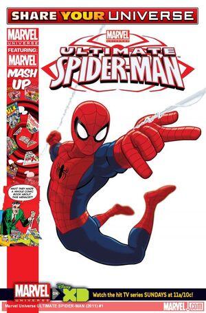Marvel Universe Ultimate Spider-Man Vol 1 1