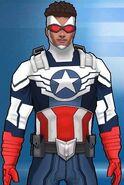 Samuel Wilson (Earth-TRN562) from Marvel Avengers Academy 004