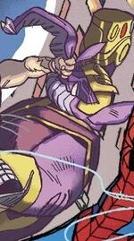 Thanos (Earth-Unknown) from Spider-Man Annual Vol 3 1 001