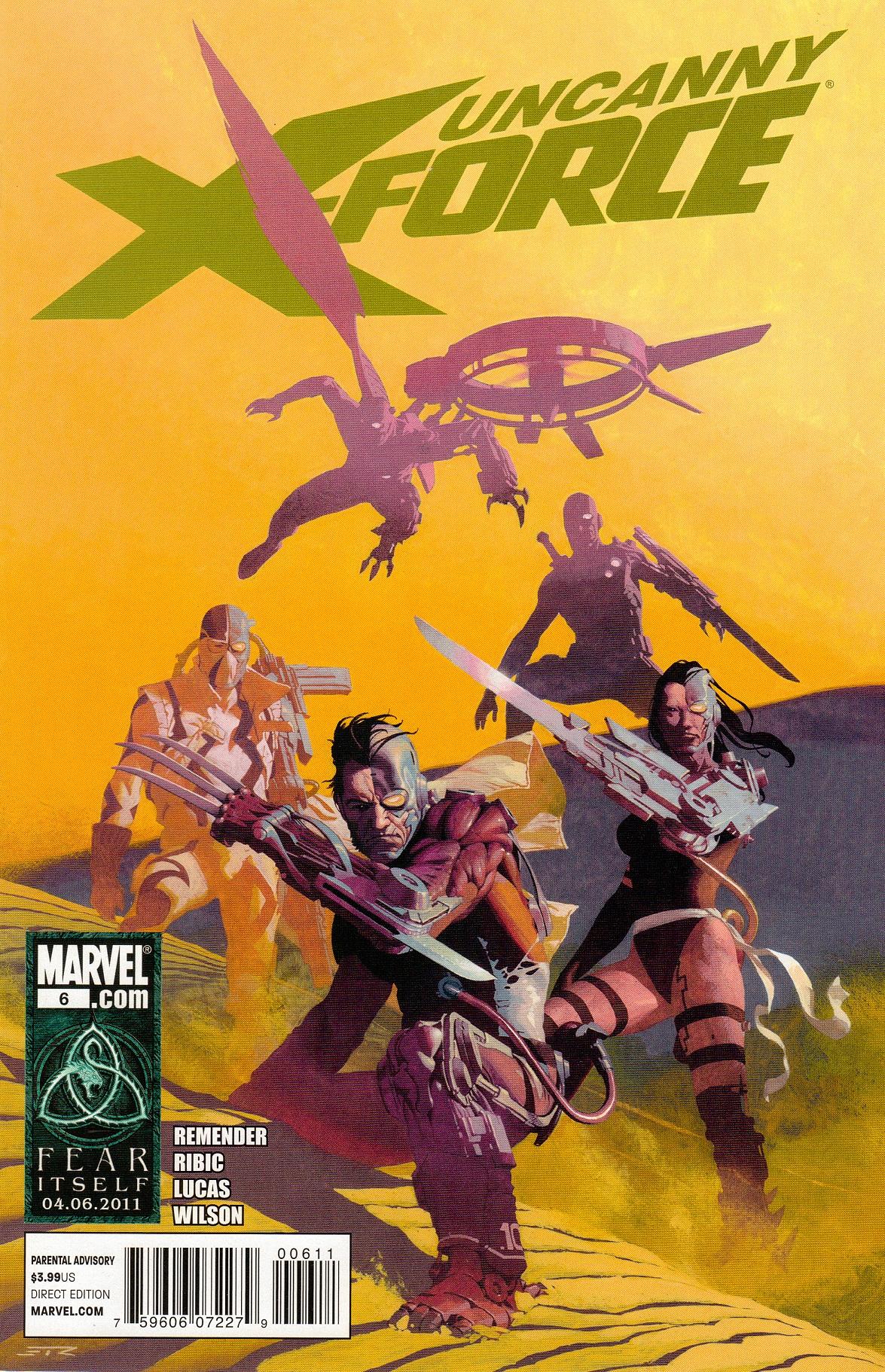 Uncanny X-Force Vol 1 6