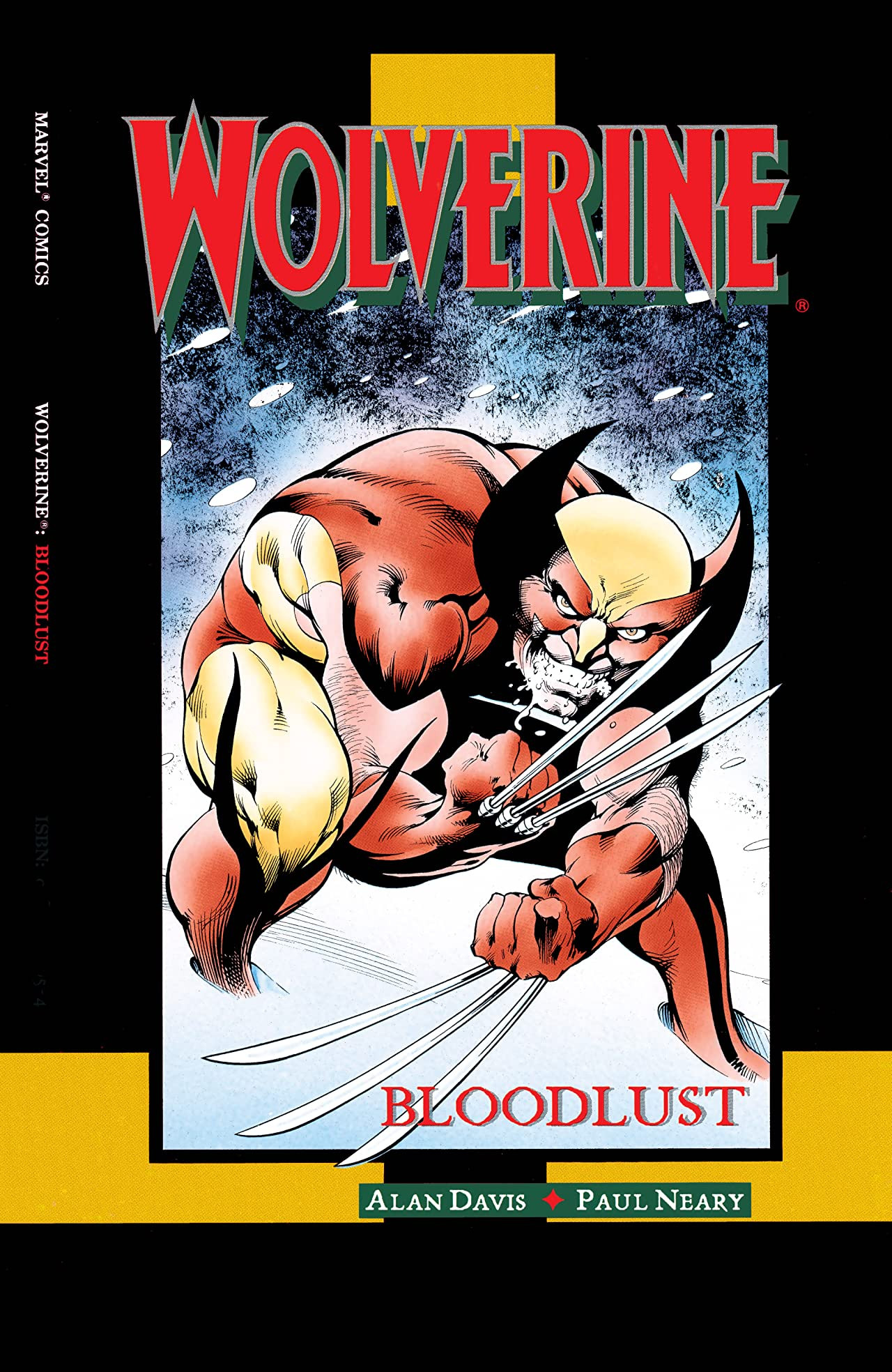 Wolverine Bloodlust Vol 1 1
