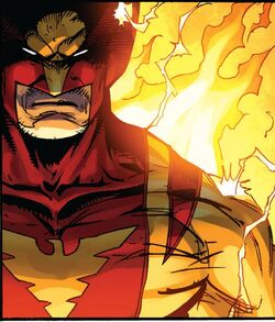 Wolverine as Dark Phoenix from Astonishing Spider-Man & Wolverine Vol 1 5 001