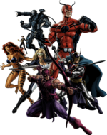 Avengers West Coast (Earth-12131) from Marvel Avengers Alliance 0001