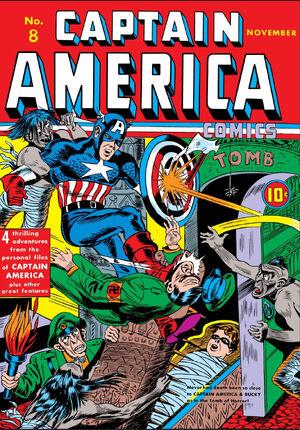 Captain America Comics Vol 1 8